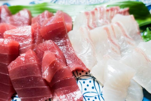 赤身魚と白身魚