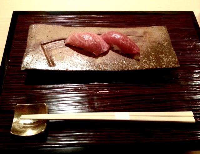 大間まぐろの寿司