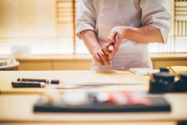 高価格寿司屋