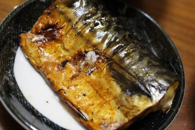 加熱処理した魚
